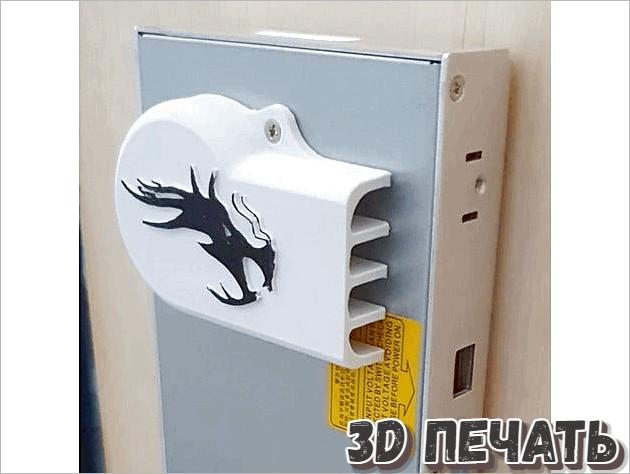Крышка для блока питания Ender 3 Pro с логотипом