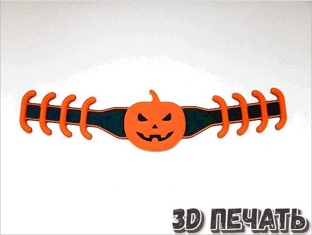 Джек-фонарь для наушников на Хэллоуин