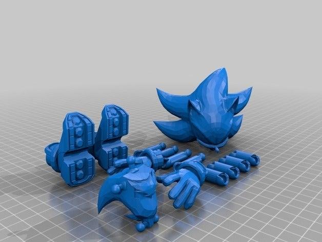 3D модель Соника