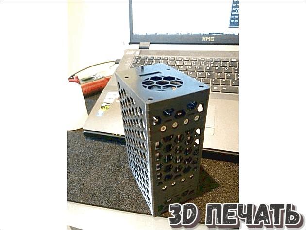 Корпус для Raspberry Pi NAS