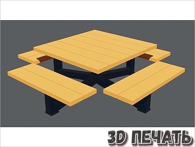 Скамейка на открытом воздухе