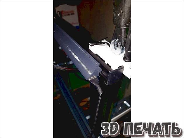 Светодиодная поддержка для Ender 3
