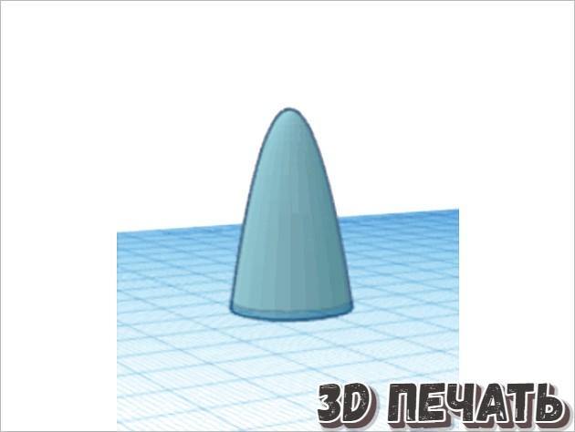 Пирамидка из колец