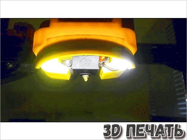 Надстройка для установки светодиодной панели