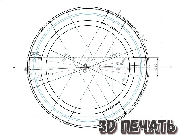 Крышка телескопа Skywachter 200/1000 PDS