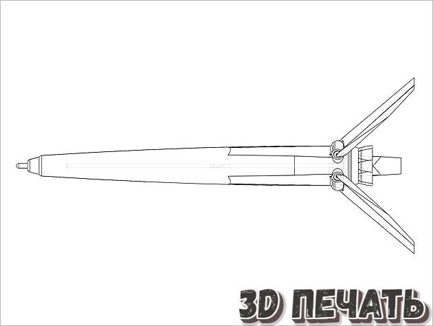 Корпус для классической ручки Falcon 9