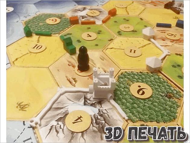 Игровые кубики поселенцев