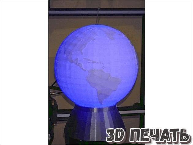 Глобус Лампа