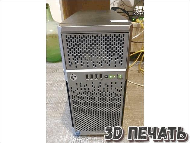 Передняя панель HP ML310e