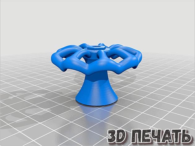 3D модель ручки ящика