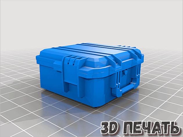 3D модель контейнера