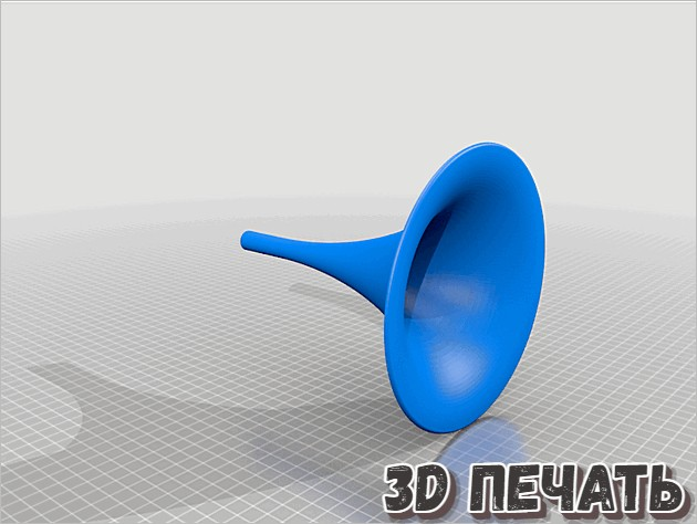 3D Пассивный динамик