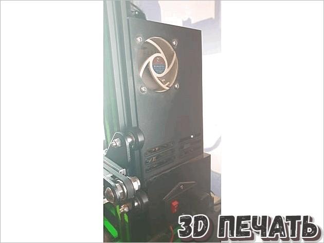 Корпус блока питания Ender 3 Pro