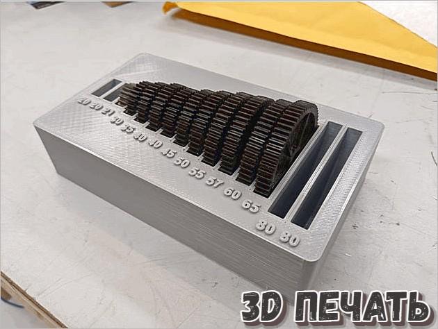 Миниатюрный органайзер для зубчатых колес