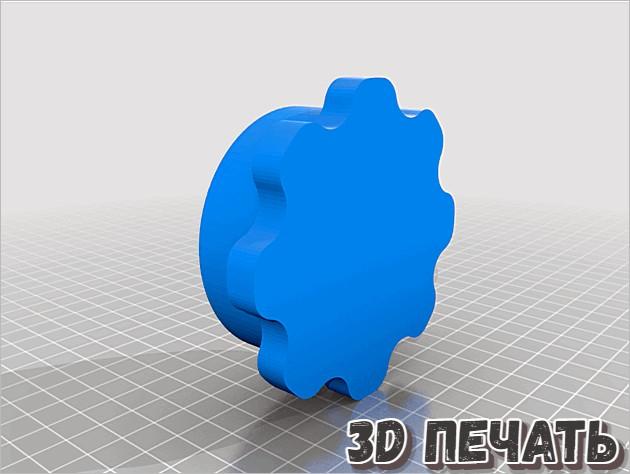 Дробилка для чеснока 3D