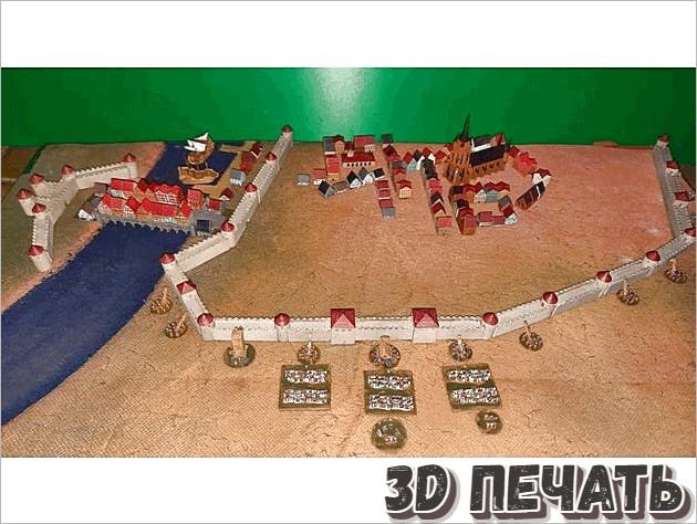 Средневековое осадное орудия и башни