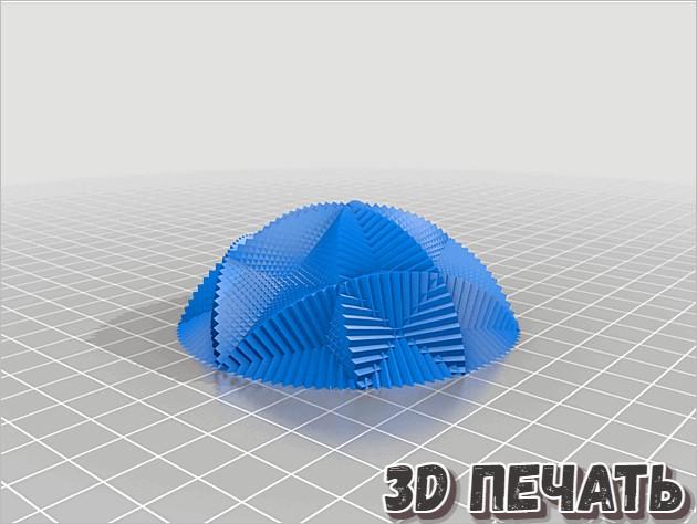 Гиперболоид в 3D