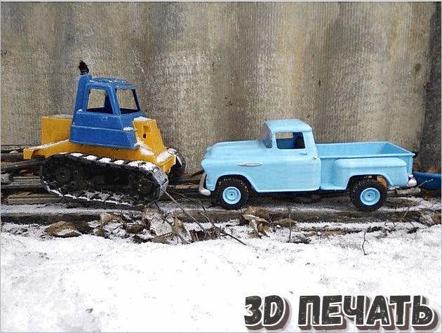 3D модель радиоуправляемого Chevrolet 3100