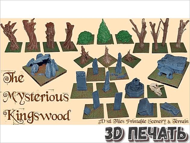 Таинственный Kingswood Kickstarter