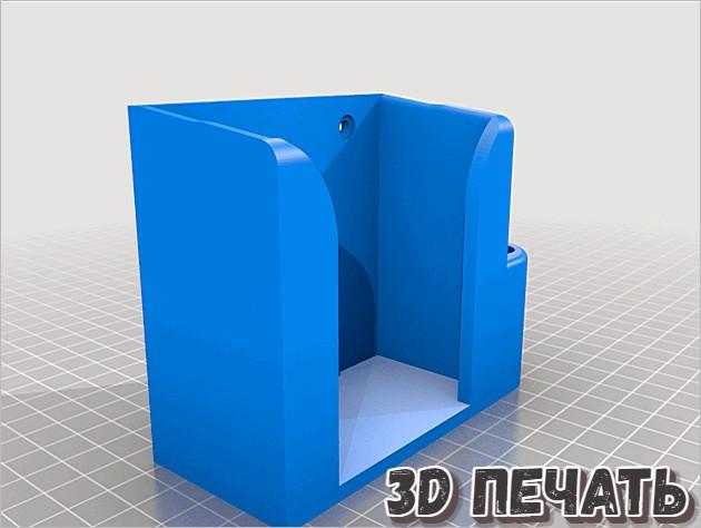 Настенная подставка для мультиметра