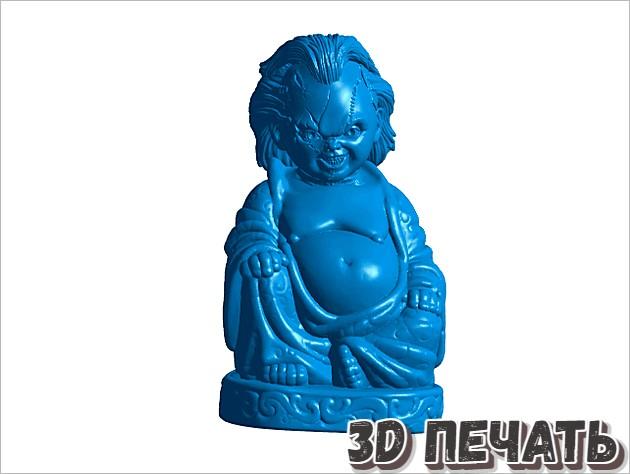 Чаки Будда 3D