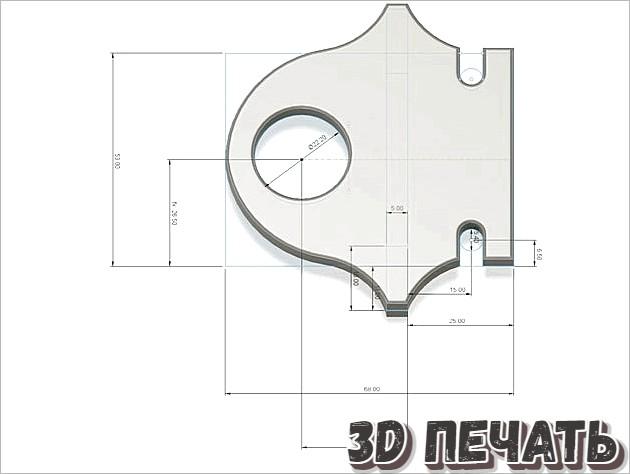 Ходовой винт Hypercube Evolution 8 мм