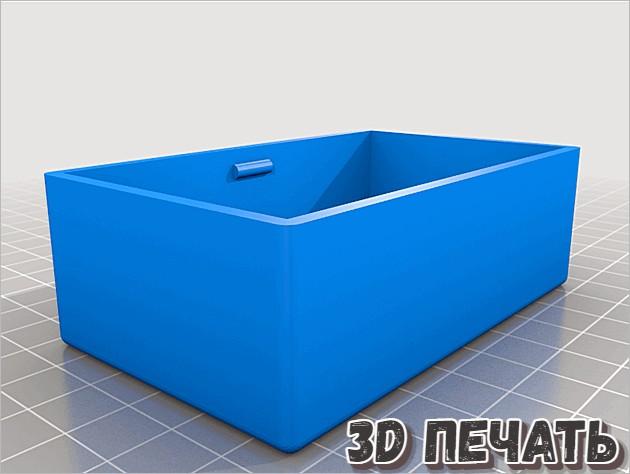 Простая коробка в 3D