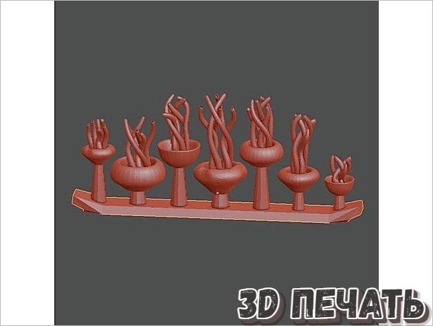 Медузы в 3D
