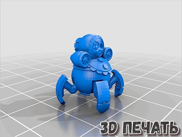 Русские матрешки дроны в 3D