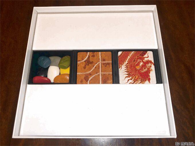 Вставка для игровой коробки Tsuro