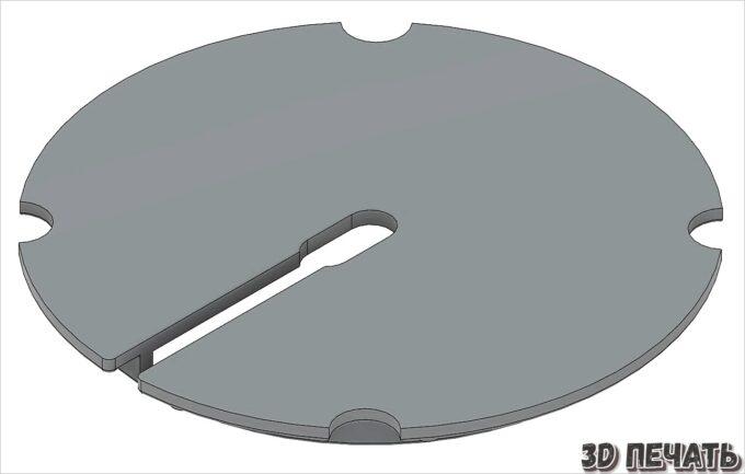 Игольная пластина для спиральной пилы Carbatec 16 дюймов
