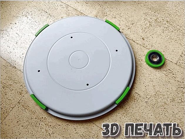 3D модель устройства подачи и хранение нити