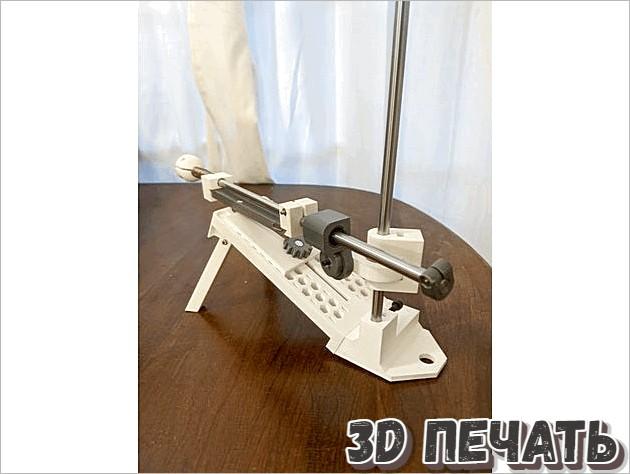 Точилка для ножей в 3D
