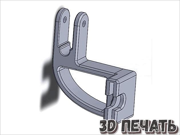3D Роликовая направляющая нити
