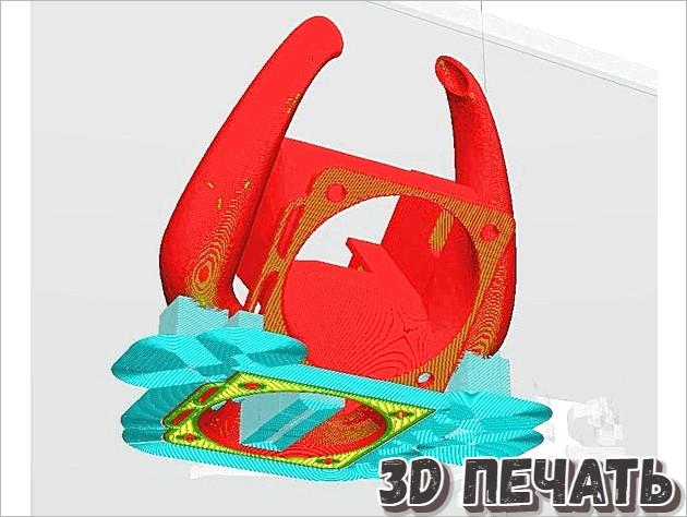 Вентилятор в воздуховоде Ender3v2