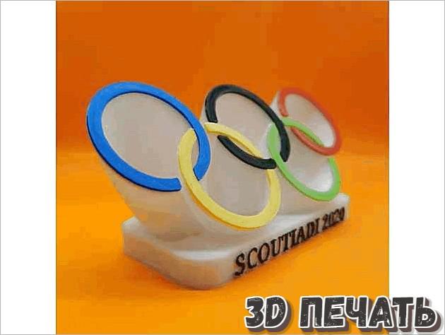Олимпийская медальница