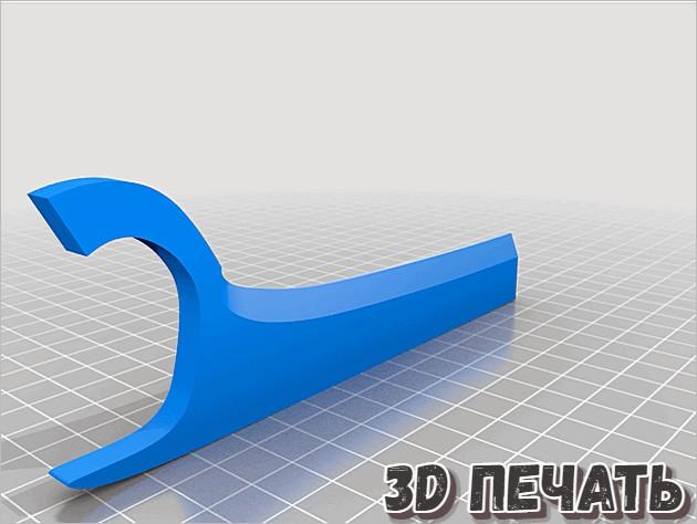 Когти Росомахи в 3D