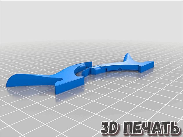 3D модель револьвера