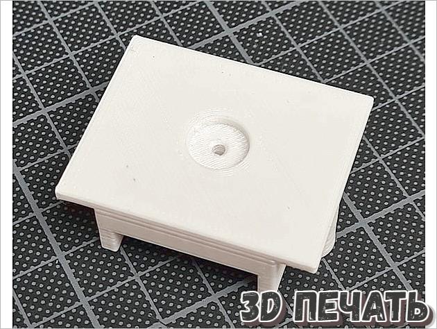 Крепление кард-ридера Amiga 1200 micro SD