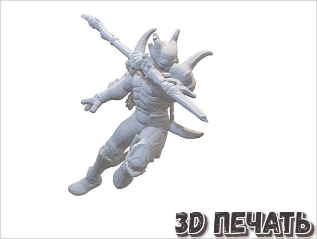 Настольная миниатюра 32 мм / 28 мм