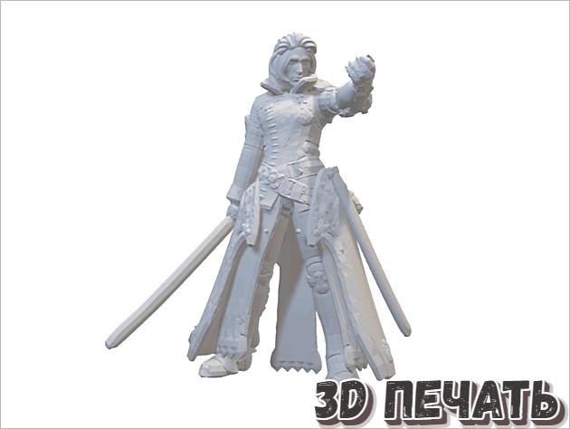 Настольная миниатюра Ravus Nox Fleuret