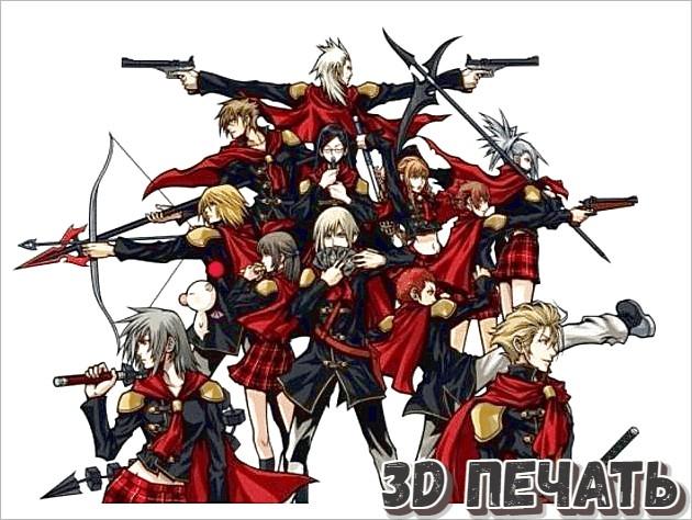 Настольные миниатюры Final Fantasy