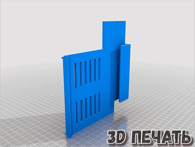 Крышка блока питания Ender 3 V2