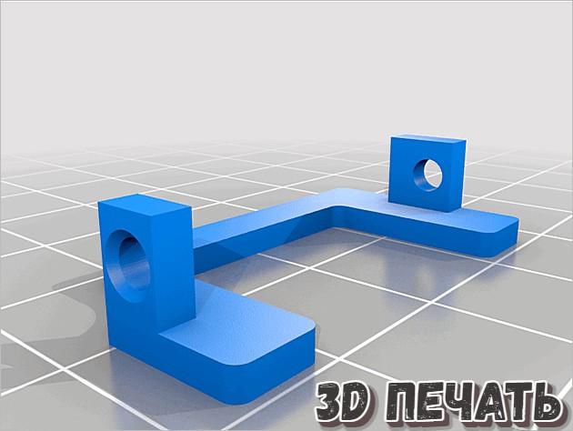 Защитный кожух вентилятора радиатора Hydra Ender 3/5