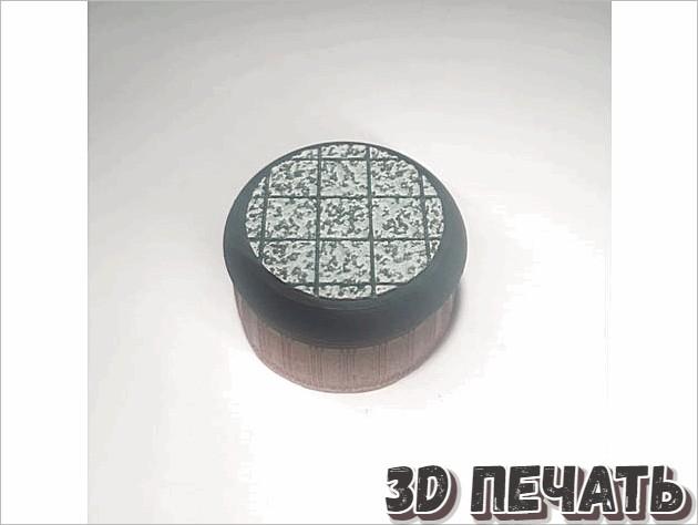 Мраморные круглые основы 30 мм / 40 мм / 50 мм