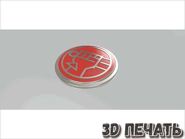 Логотип Hellboy