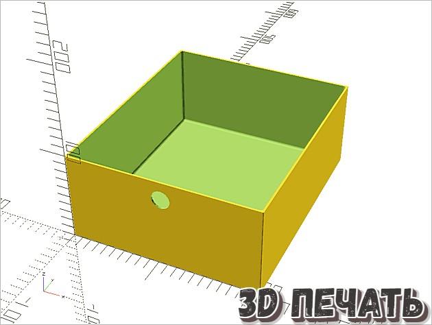 Параметрические ящики