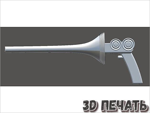 Оригинальное ракетное ружье Бака Роджерса (1929)