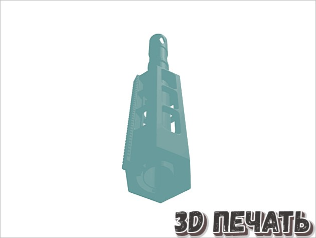 Насадка для ствола карабина M4 Nerf