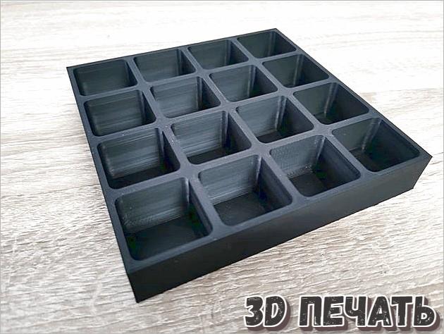 Ящик для шурупов и гаек